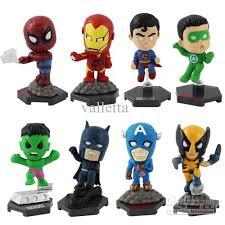 figure batman superman iron man