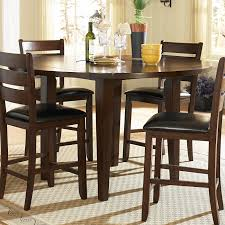 Tall Dining Room Set Kitchen Table Counter Counter Height Dining Table Round Pine