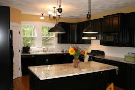 ideas captivating black kitchen island lighting and black painted kitchen cabinet ideas with top mount double black kitchen island lighting