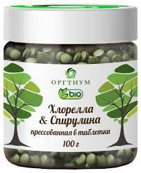 Купить <b>Оргтиум Хлорелла</b> & <b>Спирулина</b> прессованная в таблетки ...