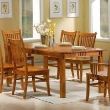 mission oak dining room table coaster  mission style dining table burnished oak solid hardwood