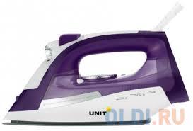 <b>Утюг UNIT USI</b>-<b>284</b>, Цвет - <b>Фиолетовый</b> — купить по лучшей цене ...
