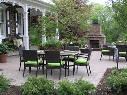 outdoor fireplace paver patio: paver patio paver patio with outdoor fireplace