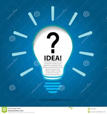 do you have any ideas stock vector image 41548545 do you have any ideas