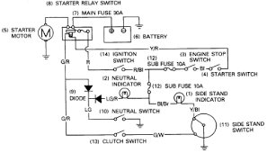 cbr1000 electric starter circuit diagram honda cbr1000 electric starter circuit diagram