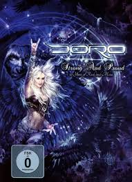 <b>Doro Strong and</b> Proud Blue Ray Digipack | Official Doro Merchandise