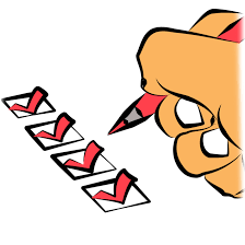 Image result for checklist clipart