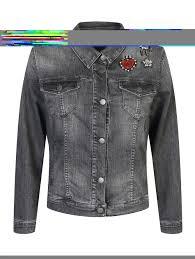 <b>Persona by Marina</b> Rinaldi серая джинсовая <b>куртка</b> с декором ...