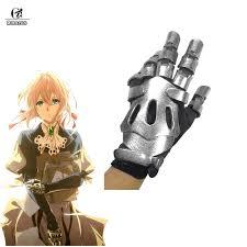 <b>ROLECOS Violet Evergarden Cosplay</b> Armor Gloves Anime ...