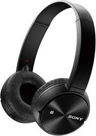 Беспроводные <b>наушники</b> с микрофоном <b>Sony MDR</b>-<b>ZX330BT</b> Black