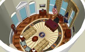 oval office white house. Computer Recreation Oval Office White House O