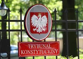 Znalezione obrazy dla zapytania trybunał konstytucyjny