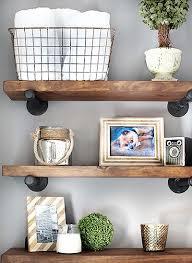 shelves bathroom part shelf diy restoration hardware hacks part  industrial rustic shelving and in