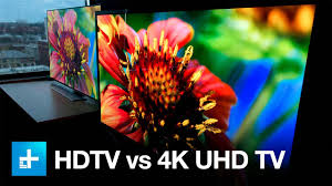 4K UHD <b>TV</b> vs. <b>1080p</b> HDTV - Side by Side Comparison - YouTube