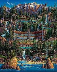 Olympic National Park - Fine Art | Иллюстрации, Город и Рисунки