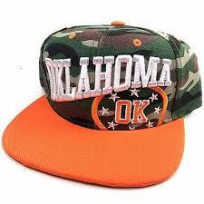 Оранжевый камуфляж Оклахома-Сити вышитые плоские ...
