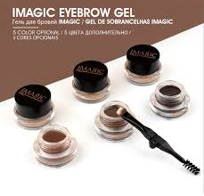 IMAGIC Professional <b>Eyebrow Gel 6 Colors</b> Eyebrow Enhancer ...
