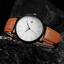 simple clean pu leather strap watches for unisex calender simple clean pu leather strap watches for unisex calender quartz watch women men relojes
