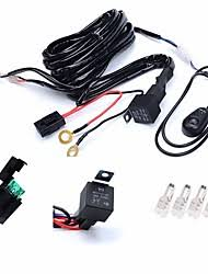 american wire works com kawell 1 leg wiring harness include switch kit suppot 300w led work light led light bar
