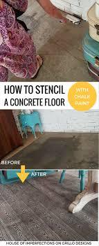 leveling decorative concrete floor living