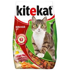 Сухой <b>корм для кошек Kitekat</b> мясное ассорти, 1.9 кг | Магнит ...