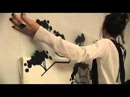 Easy way to install <b>Wall Decals</b> - How to - YouTube