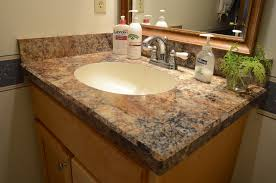 bathroom vanities tops choices choosing countertops: traditional bathroom by country cabinets traditional bathroom traditional bathroom by country cabinets