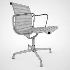 vitra aluminium chair ea 108 3d model max obj fbx 6 aluminium chair ea 108