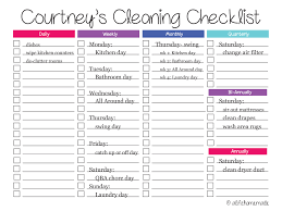 checklist cleaning service template resume builder checklist cleaning service template weekly house cleaning schedule template checklist chart preview