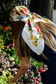 Gucci <b>head scarf</b> in 2019 | Scarf hairstyles, <b>Head scarf</b> styles, Hair ...
