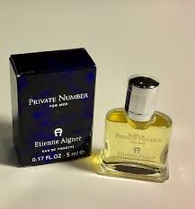 NEW Etienne <b>Aigner PRIVATE NUMBER</b> FOR MEN Eau De Toilette ...