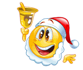 Картинки по запросу смайлики анимация новогодние