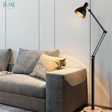 <b>Nordic Modern Minimalist LED</b> Creative Rocker Arm Living Room ...