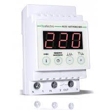 HS Electro УКН-25с <b>Реле напряжения</b> на DIN-рейку, 25 Ампер, 5,5 ...