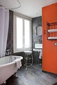 image orange bathroom