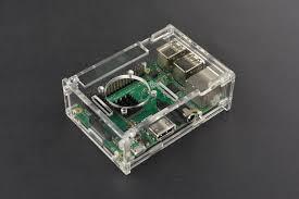 <b>Transparent Acrylic Case for</b> Raspberry Pi B+/2B/3B – DFRobot