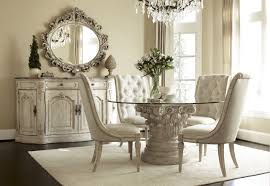 Fabric Chairs For Dining Room Dining Room Casual Image Of Dining Room Decoration Using White