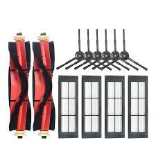 <b>Sweeper Accessories Set</b> Detachable Roller Brush <b>Main</b> Brush Side ...