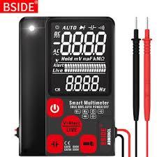 Цифровой <b>мультиметр</b> BSIDE ADMS7 S9CL, тестер напряжения ...