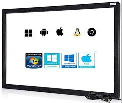 <b>55 Inch IR</b> Touch Screen Multi Touch Overlay, Rs 16000 /piece ...