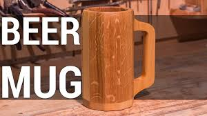 Wooden <b>Beer</b> Mug | Деревянная <b>пивная кружка</b> - YouTube