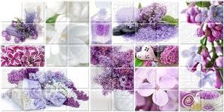 <b>Керамический декор Belleza Арома</b> Сирень лиловый 04-01-1-10 ...