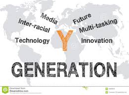 business generation y stock photo image 58289632 business generation y