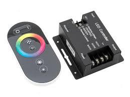 <b>Контроллер SWGroup LED</b> MIX <b>RGB</b> 12V 24V 18A RF <b>RGB</b> 44 18A ...