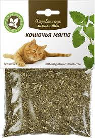 <b>Лакомство</b> для кошек <b>Деревенские лакомства кошачья мята</b> 100мл