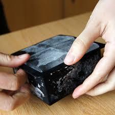 DIY Creative 4 Square Ice Cube Tray Square Silicone <b>Big Size Mold</b> ...