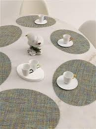 <b>Oval Table Mats</b> | Pelago Palm Springs