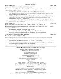 director resume medical director resume
