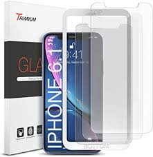 Trianium 3 Pack <b>Glass Protector</b> Compatible with iPhone 11 <b>Screen</b>…