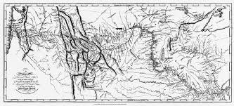 map of lewis and clark s track catalog number cn 054377